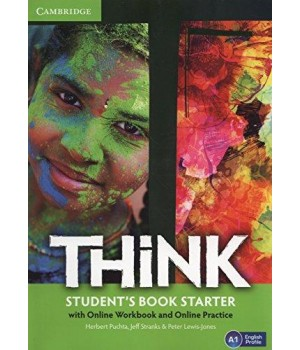 Підручник Think Starter (A1) Student's Book with Online Workbook and Online Practice