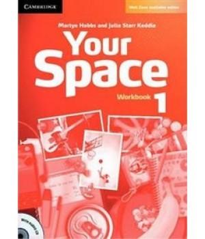 Робочий зошит Your Space Level 1 Workbook with Audio CD