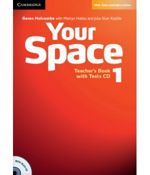 Книга для вчителя Your Space Level 1 Teacher's Book with Tests CD