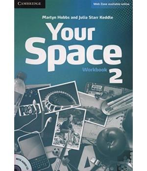 Робочий зошит Your Space Level 2 Workbook with Audio CD