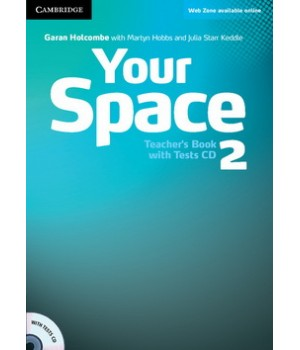 Книга для вчителя Your Space Level 2 Teacher's Book with Tests CD