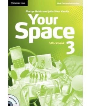 Робочий зошит Your Space Level 3 Workbook with Audio CD