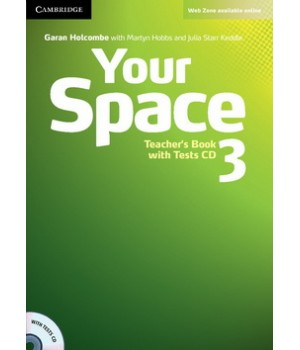 Книга для вчителя Your Space Level 3 Teacher's Book with Tests CD