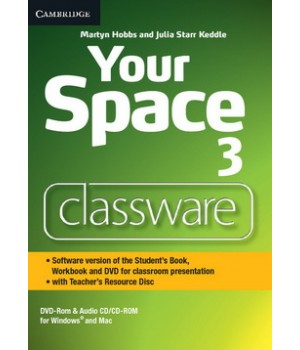 Диск Your Space Level 3 Classware DVD-ROM with Teacher's Resource Disc