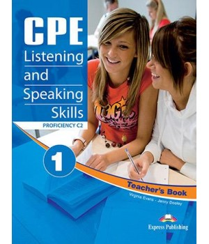 Книга для вчителя CPE Listening and Speaking Skills 1 Proficiency C2 Teacher's Book