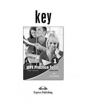 Відповіді CPE Practice Tests 1 Key
