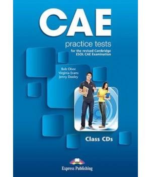 Диски CAE Practice Tests Class Audio CDs (3)