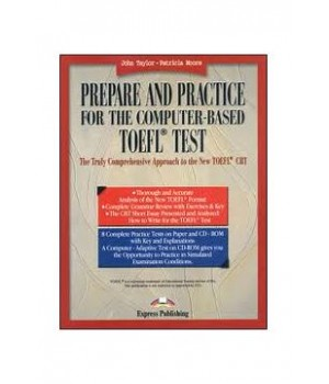 Підручник Prepare and Practice for the computer-based TOEFL Test with CD-ROM