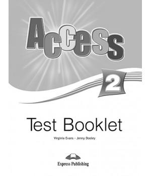 Тести Access 2 Test Booklet