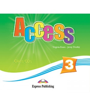 Диски Access 3 Class Audio CDs (Set of 4)