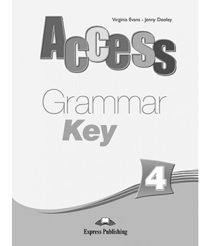 Відповіді Access 4 Grammar Key