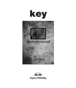 Відповіді Advanced Grammar and Vocabulary Key