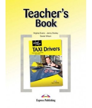 Книга для вчителя Career Paths: Taxi Drivers Teacher's Book