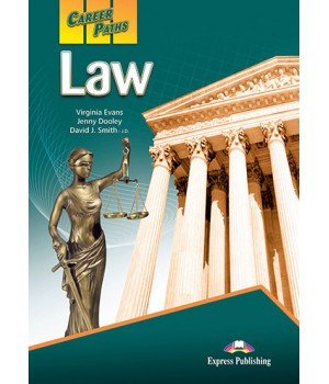 Підручник Career Paths: Law Student's Book with online access