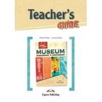 Книга для вчителя Career Paths: Museum Management & Curatorship Teacher's Guide