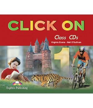 Диски Click On 1 Class Audio CDs (Set of 4)