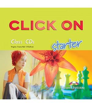 Диски Click On Starter Class Audio CDs (Set of 2)