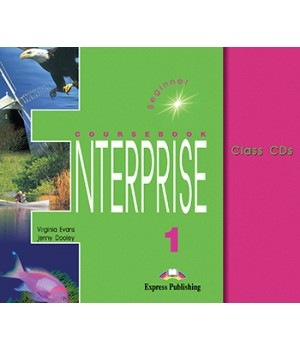 Диски Enterprise 1 Class Audio CDs (Set of 3)