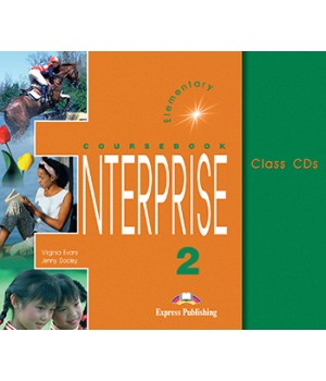 Диски Enterprise 2 Class Audio CDs (Set of 3)