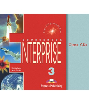 Диски Enterprise 3 Class Audio CDs (Set of 3)