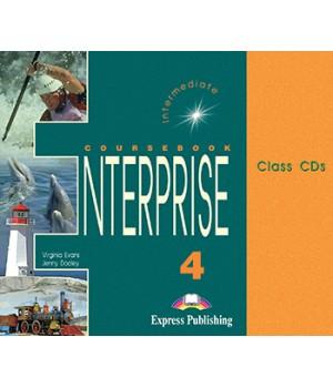 Диски Enterprise 4 Class Audio CDs (Set of 3)