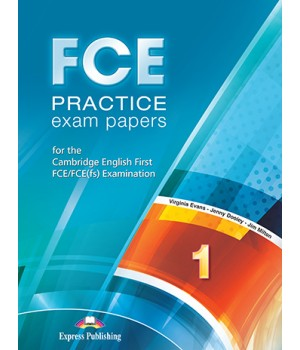 Підручник FCE Practice Exam Papers 1 (for the updated 2015 exam) Student's Book