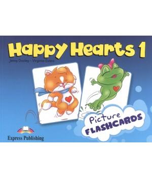 Картки Happy Hearts 1 Picture Flashcards