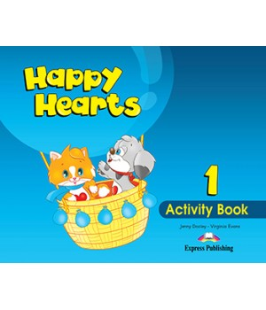 Робочий зошит Happy Hearts 1 Activity Book