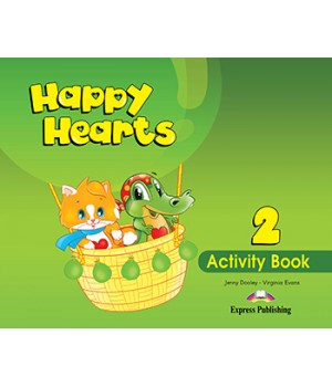 Робочий зошит Happy Hearts 2 Activity Book