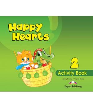 Рабочая тетрадь Happy Hearts 2 Activity Book