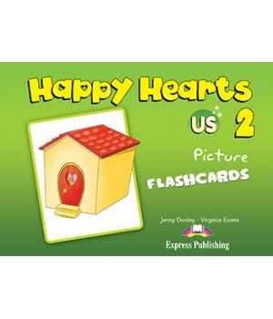Картки Happy Hearts 2 Picture Flashcards