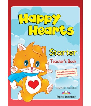 Книга для вчителя Happy Hearts Starter Teacher's Book