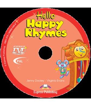 Диск Hello Happy Rhymes DVD