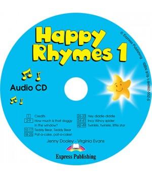 Диск Happy Rhymes 1 Class Audio CD