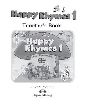Книга для вчителя Happy Rhymes 1 Teacher's Book