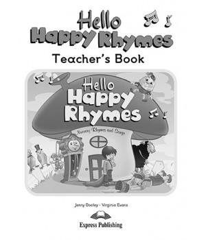Книга для вчителя Hello Happy Rhymes Teacher's Book