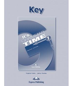 Відповіді It's Grammar Time 1 Keys