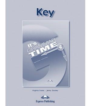 Відповіді It's Grammar Time 4 Keys