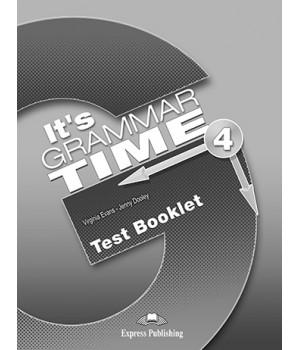Тести It's Grammar Time 4 Test Booklet