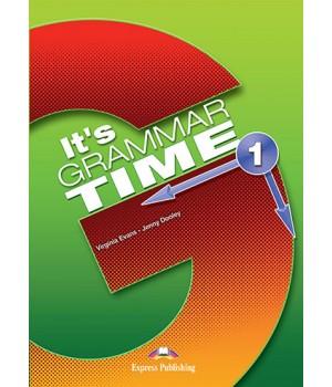 Підручник It's Grammar Time 1 Student's Book