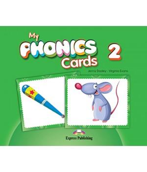 Картки My Phonics 2 (Short Vowels) Cards