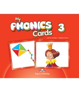 Картки My Phonics 3 (Long Vowels) Cards