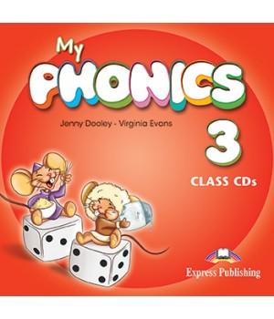 Диски My Phonics 3 (Long Vowels) set of CDs (2)