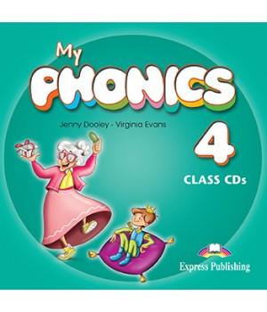 Диски My Phonics 4 (Consonant Blends) set of CDs (2)