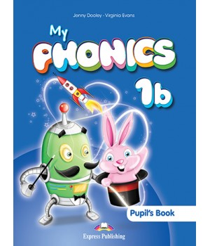 Підручник My Phonics 1b (The Alphabet N-Z) Pupil's Book