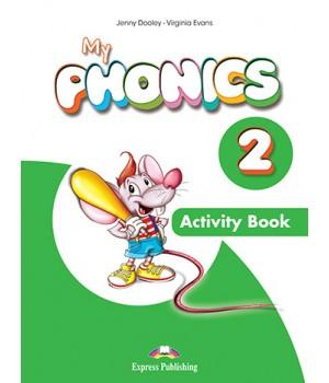 Робочий зошит My Phonics 2 (Short Vowels) Activity Book