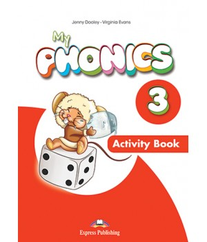 Робочий зошит My Phonics 3 (Long Vowels) Activity Book
