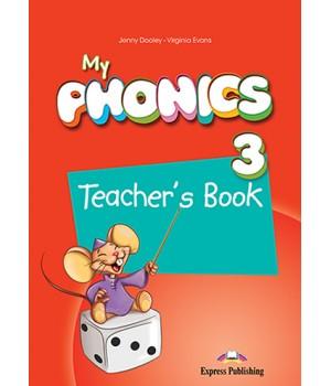 Книга для вчителя My Phonics 3 (Long Vowels) Teacher's Book
