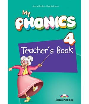 Книга для вчителя My Phonics 4 (Consonant Blends) Teacher's Book