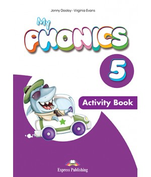 Робочий зошит My Phonics 5 (Letter Combinations) Activity Book